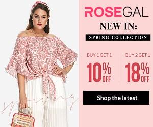 Интернет-магазины по лучшим ценам на Rosegal.com
