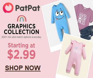 PatPat.com makes outfitting your kids easy and fun!